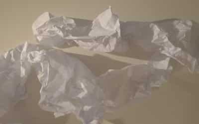 «Autour de papiers dansés» exposition